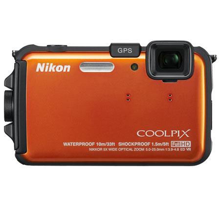Nikon CoolpiAW Digital Camera Refurbished Nikon USA 197 - 279