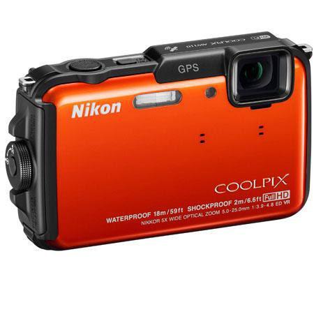 Nikon CoolpiAW Digital Camera Refurbished Nikon USA 69 - 181