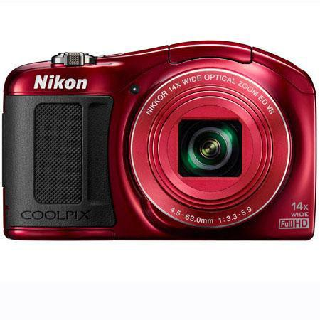 Nikon CoolpiL Compact Digital Camera MPOptical Zoom Optical VR Image Stabilization Full HDp Movie Di 235 - 11