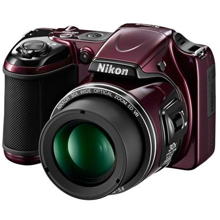 Nikon CoolpiL Digital Camera MP Optical Zoom p Video Refurbished Nikon USA 163 - 333