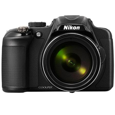 Nikon CoolpiDigital Camera MPOptical Zoom LCD Display HDMIUSB Wi Fi Image Stabilization  69 - 345