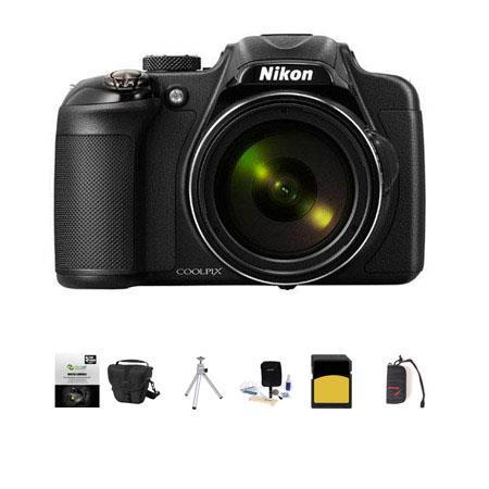 Nikon CoolpiDigital Camera MPOptical Zoom Bundle LowePro TLZ Holster Case GB Class SDHC Card New Lea 458 - 31