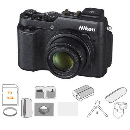 Nikon CoolPiDigital Camera BUNDLE GB Class SDHC Card Camera Case Lens Cleaning Kit LCD Screen Protec 133 - 155