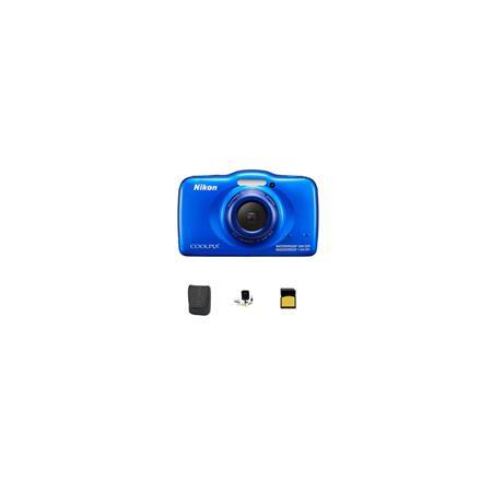 Nikon CoolpiS Digital Camera MPOptical Blue Bundle GB Class SDHC Card LowePro Dublin Case Cleaning K 9 - 665