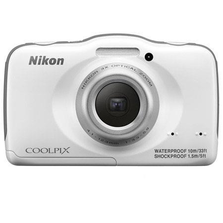 Nikon CoolpiS Digital Camera MPOpticalDigital LCD Full HD p Video HDMIUSB Waterproof  185 - 642
