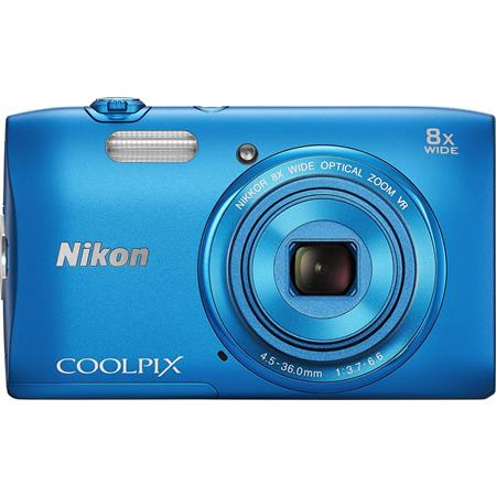 Nikon CoolpiS Digital Camera MPOptical Zoom Axis Vibrationuction Blue 78 - 759