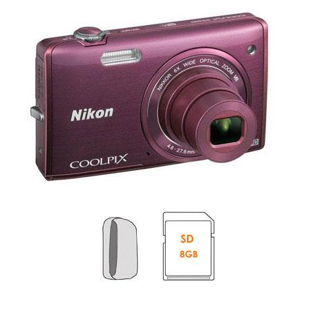 Nikon CoolPiS Digital Camera Includes Case and GB Memory Card 235 - 11