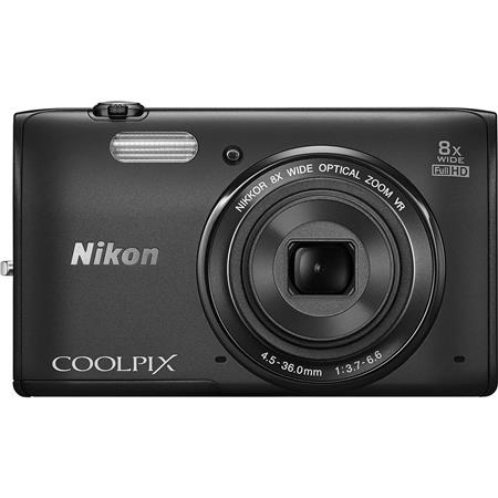 Nikon CoolpiS Digital Camera MPOptical Zoom Full HD p Videos Built In WiFi  92 - 292