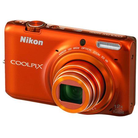 Nikon CoolpiS Megapixel Digital Camera NikkorOptical Zoom Lens Built In WiFi Full HD p Video 164 - 589
