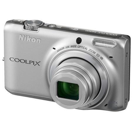 Nikon CoolpiS MP Digital Camera SilverOptical Zoom WiFi p Video Refurbished Nikon USA 55 - 666