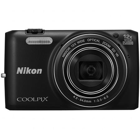 Nikon CoolpiS Digital Camera MPOptical Zoom Full HD p Video Built Wi Fi  78 - 470