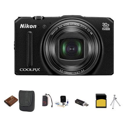 Nikon CoolpiS Digital Camera MPOptical Bundle GB Class SDHC Card Lowe Pro Dublin Case Spare Battery  287 - 763