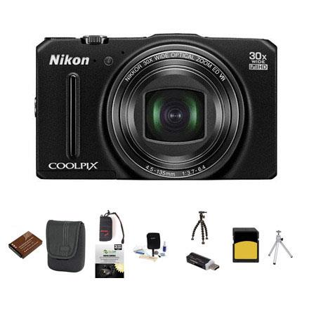 Nikon CoolpiS Digital Camera MPOptical Bundle GB Class SDHC Card Lowe Pro Dublin Case Spare Battery  213 - 79