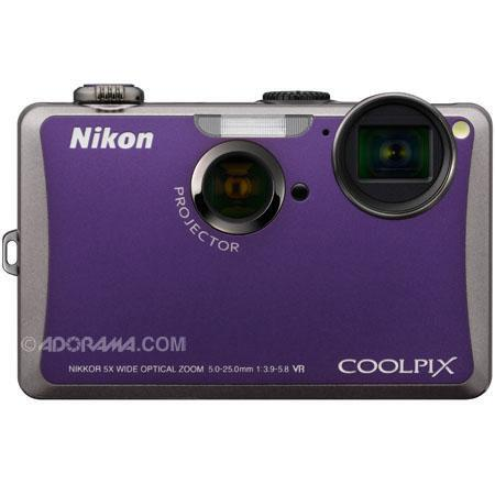 Nikon CoolpiSpj Digital Camera Violet Refurbished Nikon USA 120 - 235