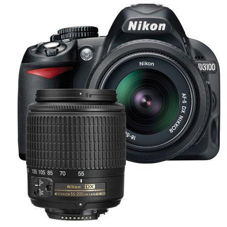 Nikon D Megapixel Digital SLR Camera NIKKOR DX Lens NIKKOR DX Lens Refurbished Nikon USA 109 - 206