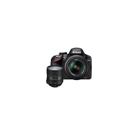 Nikon D DSLR Camera f G AF S DX VR Lens Bundle f G ED AF S VR Lens Camera Bag and Filter Kit UV CPL  77 - 25