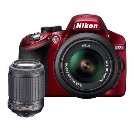 Nikon D DSLR Camera f G AF S DX VR Lens Bundle f G ED IF AF S DX VR Lens Camera Bag and Filter Kit U 126 - 518