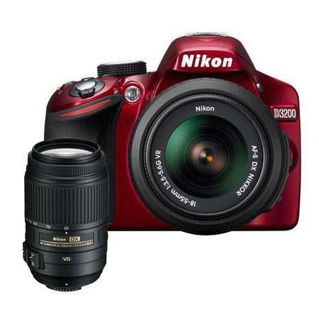Nikon D DSLR Camera f G AF S DX VR Lens Bundle f G ED AF S DX VR Lens Camera Bag and Filter Kit UV C 187 - 338