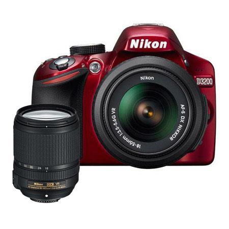 Nikon D DSLR Camera f G AF S DX VR Lens Bundle f G ED AF S DX VR Lens Camera Bag and Filter Kit UV C 120 - 335