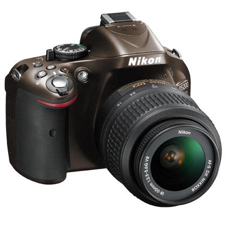 Nikon D DX Format Digital SLR Camera Kit f G AF S DX VR Lens Bronze 69 - 652