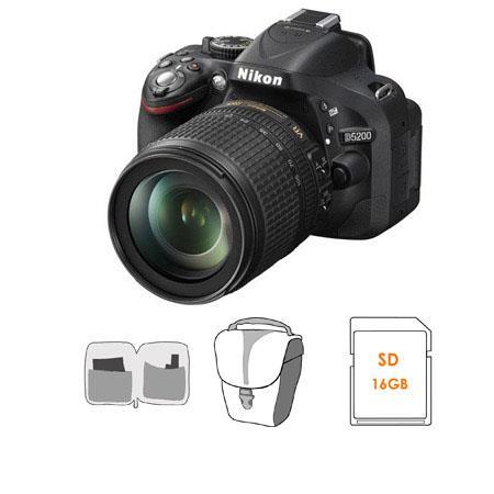 Nikon D DX Format Digital SLR Camera Kit f G ED AF S DX VR Lens Bundle GB SDHC Memory Card Carrying  103 - 365