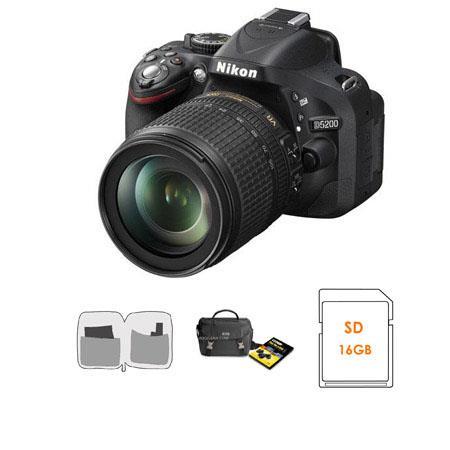 Nikon D DX Format Digital SLR Camera VR Lens Bundle Nikon Camera Bag DVD Set GB SDHC Memory Card Len 103 - 365