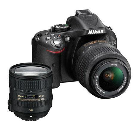 Nikon D DX Format Digital SLR Camera DX VR Lens Bundle Nikon f G ED AF S VR Lens Camera Bag and Filt 59 - 746