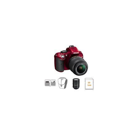 Nikon D DX Format Digital SLR Camera DX VR Lens Bundle Nikon VR Lens GB SDHC Memory Card Camera Carr 171 - 159
