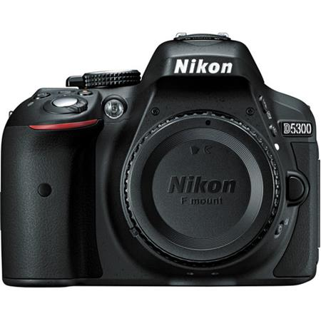 Nikon D Megapixel DX Format Digital SLR Camera Body Wi Fi Functionality Extra large swiveling Vari a 141 - 288