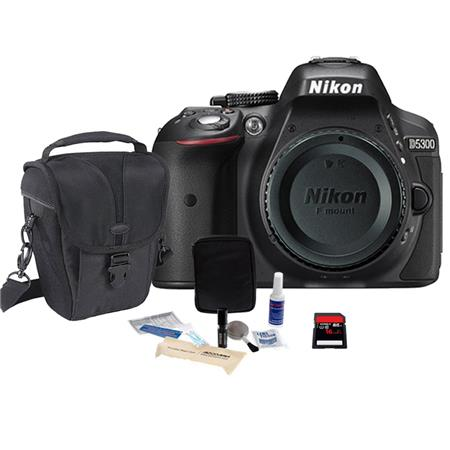 Nikon D Megapixel DX Format Digital SLR Camera Body Bundle Slinger Holster Case GB Ultra SDHC CL Car 159 - 648