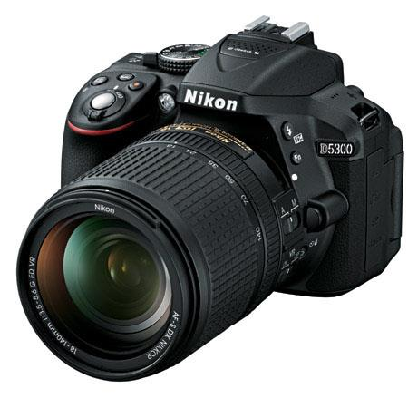 Nikon D DX Format DSLR Camera Nikon AFS DX f G ED VR Lens 299 - 76