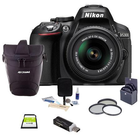 Nikon D MP DX Format Digital SLR Camera AF S DX NIKKOR f G VR Lens Bundle Slinger Holster Bag GB Cla 0 - 624