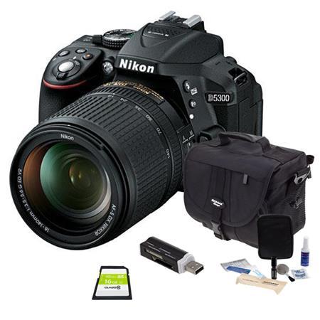 Nikon D DX Format DSLR Camera Nikon AFS DX f G ED VR Lens Bundle Slinger Holster Case GB Ultra SDHC  273 - 259