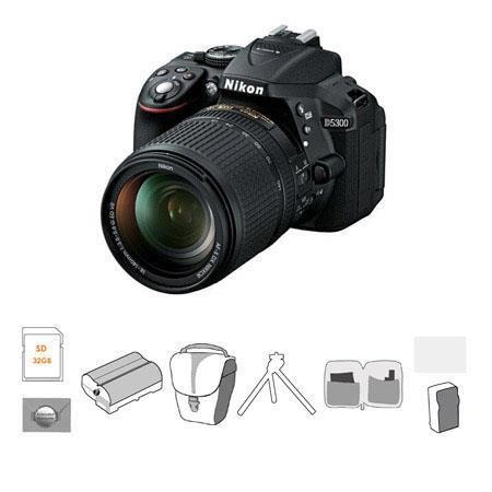 Nikon D Megapixel DX Format DSLR Camera Nikon AFS DX Lens Bundle Lowe Pro Bag Ultra SDHC CL Card New 290 - 334