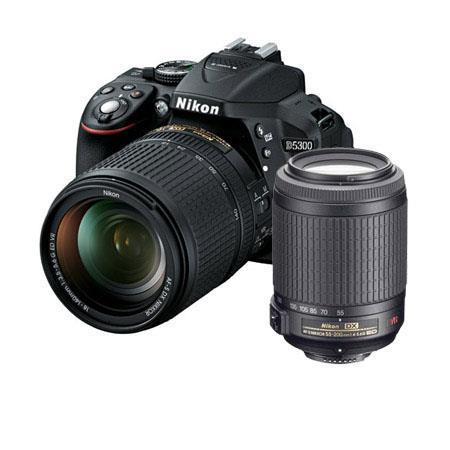 Nikon D DX Format DSLR Camera AFS DX f G ED VR Lens Bundle f G ED IF AF S DX VR Lens Camera Bag and  59 - 746