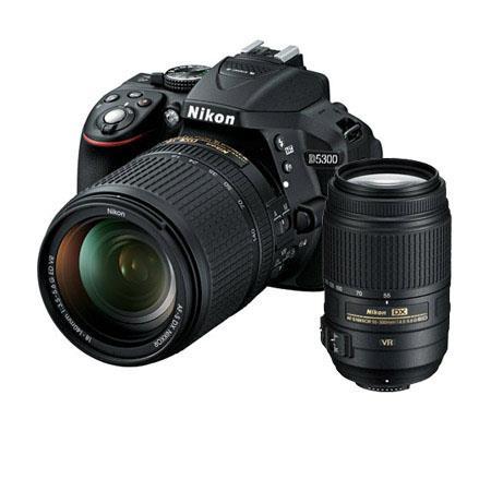 Nikon D DX Format DSLR Camera AFS DX f G ED VR Lens Bundle f G ED AF S DX VR Lens Camera Bag and Fil 57 - 159