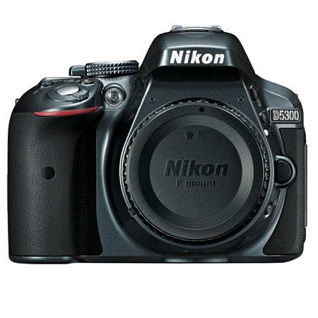 Nikon D Megapixel DX Format Digital SLR Camera Body Grey Wi Fi Functionality Extra large swiveling V 141 - 288