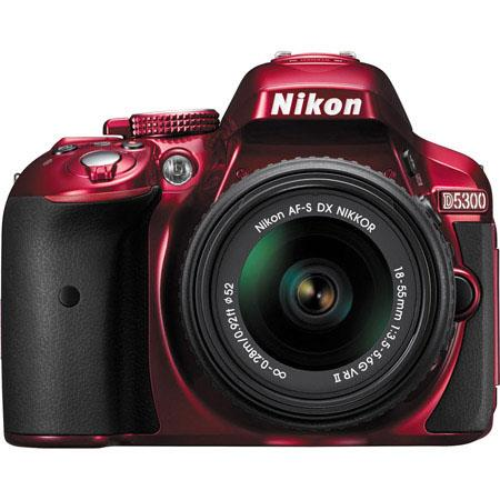 Nikon D MP DX Format Digital SLR Camera AF S DX NIKKOR f G VR Lens  56 - 558