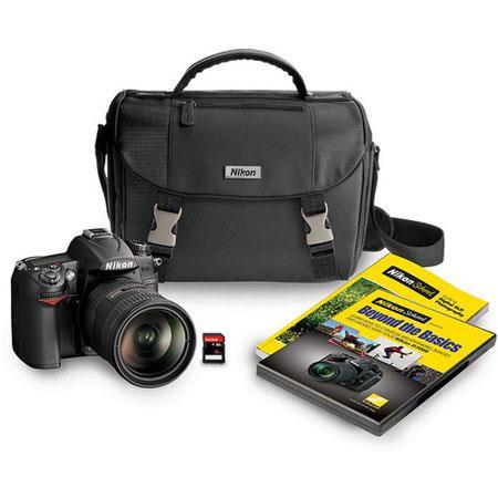 Nikon D DSLR Camera Kit DX VR Lens MP DX format CMOS Sensor LCD Display or ExposuresViewfinder Magni 92 - 595