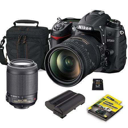 Nikon D DSLR Camera Kit DX VR Lens Bundle Nikon f G ED IF AF S DX VR Lens USA GB SDHC Memory Card Lo 74 - 403