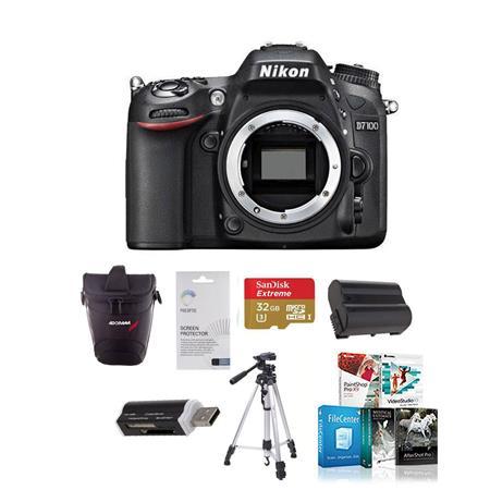 Nikon D DX format Digital SLR Camera Body Bundle GB Class SDHC Memory Card Spare Li Ion Battery New  7 - 26