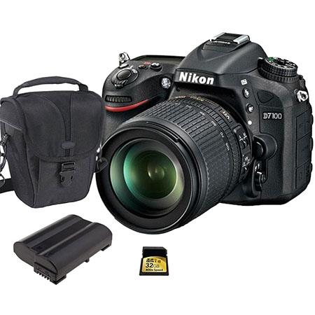 Nikon D DX format Digital SLR Camera VR Lens Bundle Spare Li Ion Battery GB Class SDHC Memory Card C 238 - 91