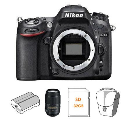 Nikon D DX format Digital SLR Camera Body Bundle Nikon f G ED AF S DX VR VR Lens Spare Li Ion Batter 275 - 175