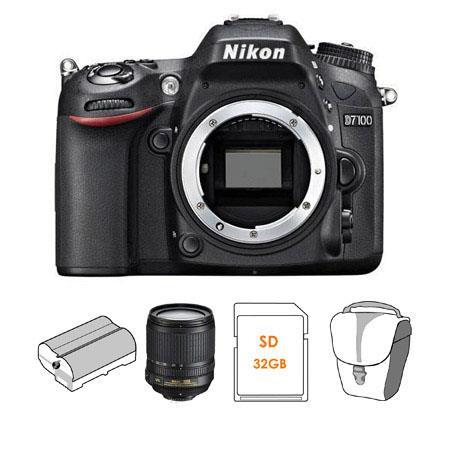 Nikon D DX format Digital SLR Camera Body Bundle Nikon f G ED AF S DX VR Lens Spare Li Ion Battery G 69 - 632