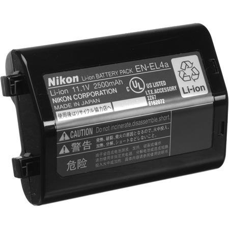 Nikon EN ELa Rechargeable Lithium ion Battery Pack Nikon D D D andDXs Digital SLR Camera 50 - 387
