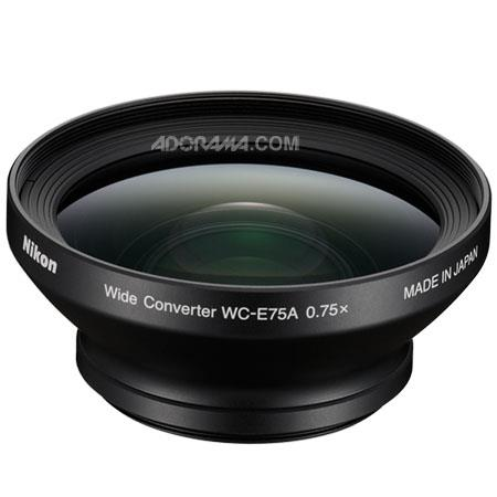 Nikon WC EA Wide Angle Converter Lens the CoolpiP Requires UR E Adapter Ring 431 - 22