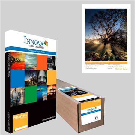 Innova Art Natural IFA FibaPrint Warm Cotton Gloss Inkjet Paper gmSheets 196 - 372