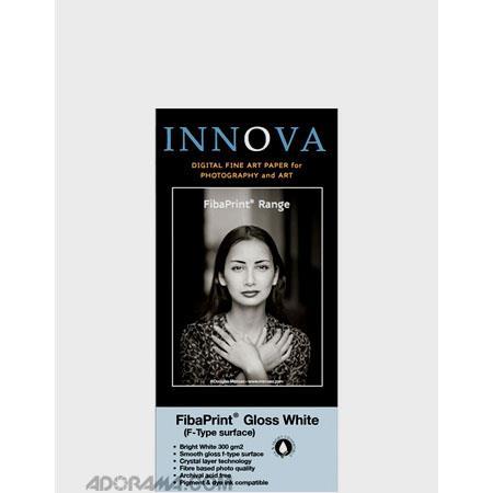 Innova Art F Type Brilliant Gloss FibaPrint Inkjet Paper gmSheets  331 - 212