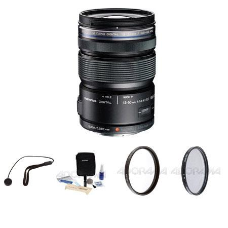 Olympus Micro Zuiko Digital ED f EZ Zoom Lens Micro Four Thirds System Bundle Pro Optic Pro Digital  225 - 48