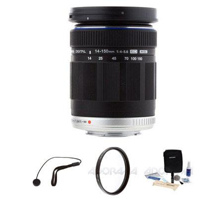 Olympus M Zuiko Digital ED f Zoom Lens Micro Four Thirds System Lens Bundle Pro Optic MC UV Filter L 73 - 186